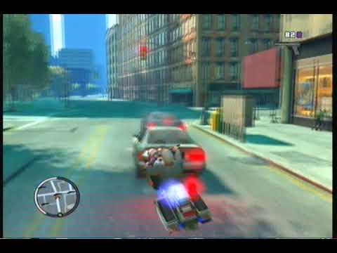 GTA IV- BoGT-NEW secret police car and motorcycle