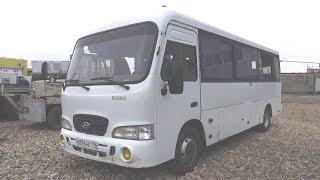 2010 Автобус малого класса Hyundai County. Обзор (интерьер, экстерьер, двигатель).