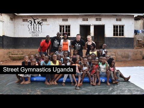 Street Gymnastics with Makula Children's home Kampala, Uganda. Part 1 - Short video.