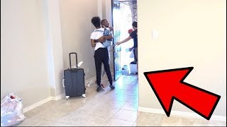 KICKED OUT THE HOUSE PRANK ON PERFECTLAUGHS!!! (GETS EMOTIONAL)