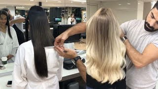 How To Clip In and Blend Hair Extensions With Short Hair