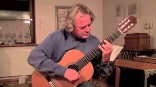 Fernando Sor (1778-1839) - Menuett A - Dur,  Rolf Meyer-Thibaut- Gitarre