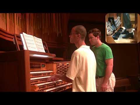 The Widor Toccata Performed At Allen Organs