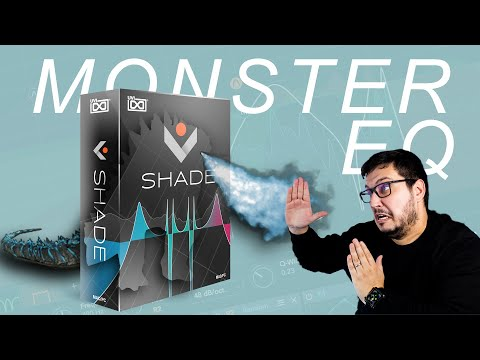 UVI Shade // Creative Monster EQ plugin //