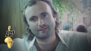 Phil Collins - Backstage Interview (Live Aid 1985)