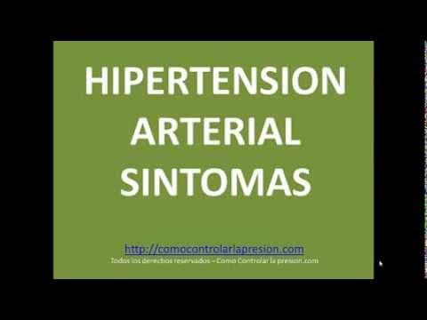 Hipertensión arterial síntomas - Principales síntomas de..