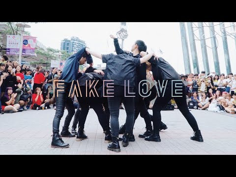 [KPOP IN PUBLIC CHALLENGE] 180707 BTS(방탄소년단)   FAKE LOVE Dance Cover by DAZZLING from Taiwan