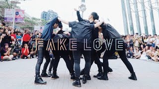 [KPOP IN PUBLIC CHALLENGE] 180707 BTS(방탄소년단) _ FAKE LOVE Dance Cover by DAZZLING from Taiwan