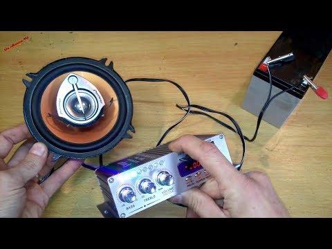 Усилитель Kentiger HY-502 USB FM | недорогой и мощный