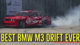 DRIFT Car Show Japan, USA, Germany, Russia - Burnout BMW M3