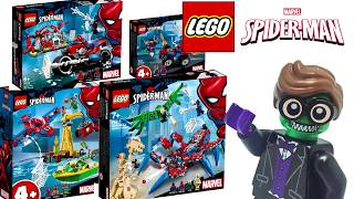 New Lego Spider-Man 2019 Line of Sets Revealed [A Deeper Look]