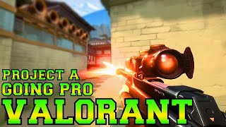 GOING PRO IN VALORANT (Project A) - Rainbow six siege player talks about Valorant