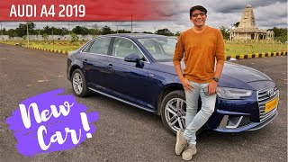 My New Car - First Buyer of Audi A4 2019 Facelift! - Auto Radar