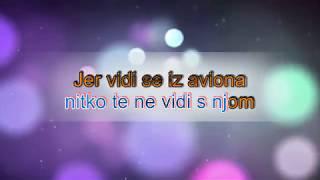 Domenica - Vidi se iz aviona - Balkan Karaoke HD - Lyrics