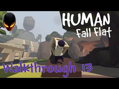 Human Fall Flat : Walkthrough 13 - Aztec / Aztèque Partie 1