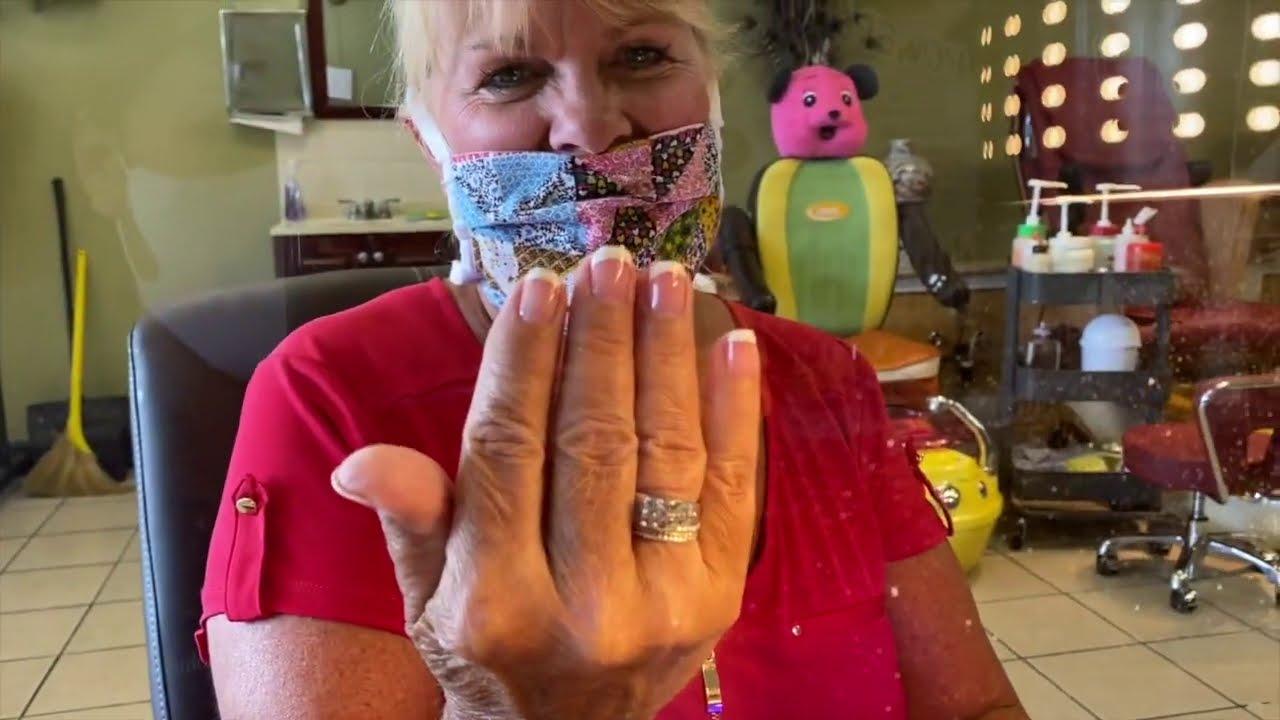 Cách Làm Móng Tay(Manicure) Gel Ở Mỹ Chưa Đầy 15 Phút Kiếm Gần $50.(Cuộc Sống Người Việt Ở Mỹ) #354