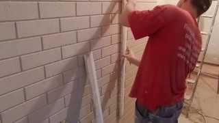 декоративное покрытие имитация кирпича,все просто(http://petren6464.wix.com/rabotyagi Предлагаю видео о том как сделать имитацию кирпича.Декоративное покрытие под кирпич..., 2015-05-22T07:06:45.000Z)