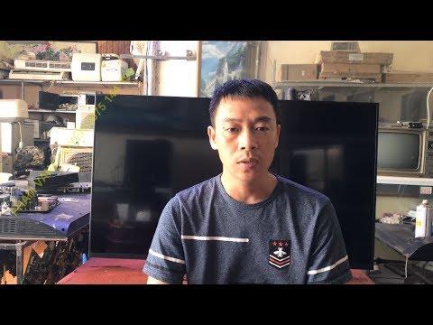 Kiếm Tra Sửa Chữa Tivi Sony 43w800C Nháy 5 Nhịp đèn đỏ Xem Hỏng Gì