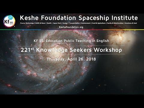 221st Knowledge Seekers Workshop - Thursday, April 26, 2018, 9 am CEST