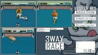 Best of NES Marathon 2015 - Mike Tyson's Punch Out!!  EPIC RACE!!!!!