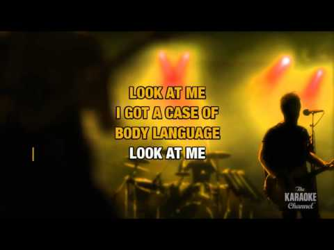Body Language in the style of Queen | Karaoke with Lyrics