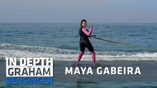 Surfing Praia Do Norte With Maya Gabeira