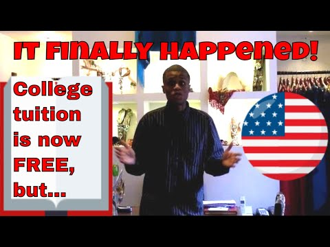 College Tuition Is Now Free In The United States