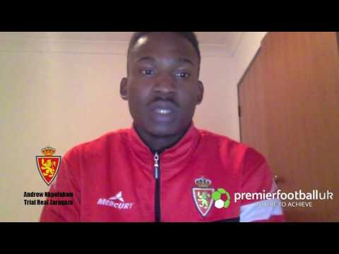 Andrew Nkpolukwu, 20, Football Trials In Europe - Premier Football UK. Sign up today