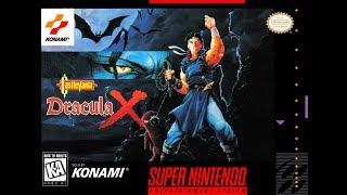 Castlevania: Dracula X Прохождение на 100% (все концовки, уровни, развилки) - SNES Rus
