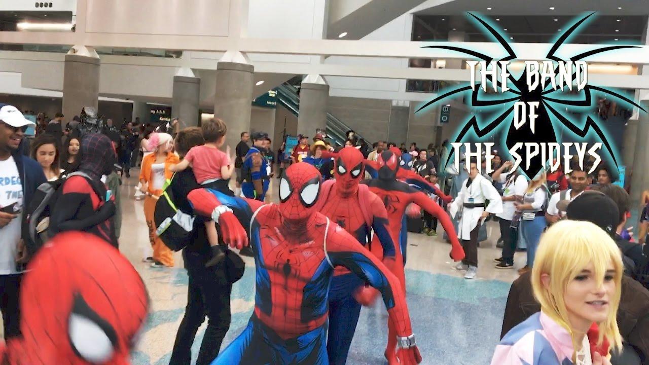 spider men dancing to