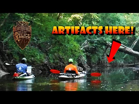 Kayakers Discover Beautiful  Ancient Native American Artifacts In This Creek - Arrowhead Hunting