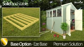 what is the ideal shed base
