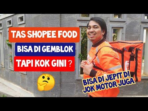 TAS SHOPEE FOOD BISA DI GENDONG Tapi Kok Gini ??