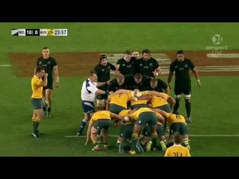 Battle Of Scrums (All Black Vs Australia )