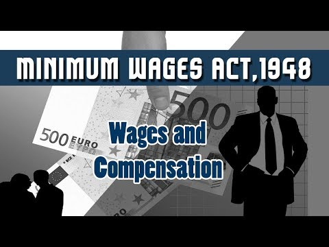 10. Minimum Wages Act,1948 | Wages | Segregation | Wages and Compensation | Human Resources