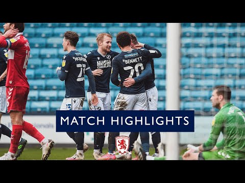 Millwall Middlesbrough Goals And Highlights