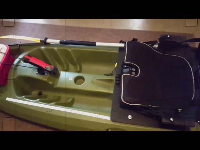 Future beach discovery 124f fishing kayak