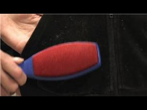 Women's Fashion : How to Remove Lint From Velour Clothing