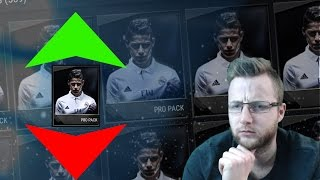FIFA Mobile 17 Pro Pack High or Low Challenge!