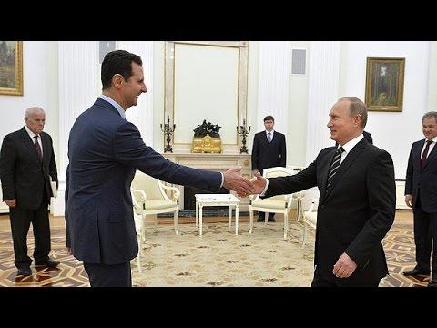 Владимир Путин и Башар Асад провели переговоры в Москве
