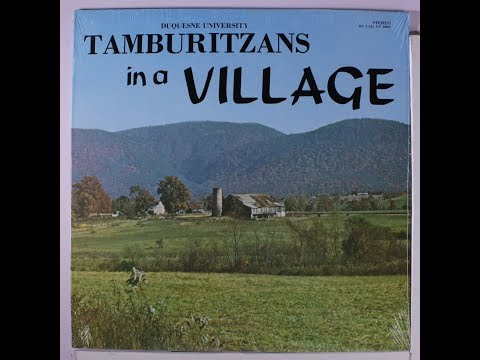 Tamburitzans In A Village (Vinyl LP). Croatian folk music