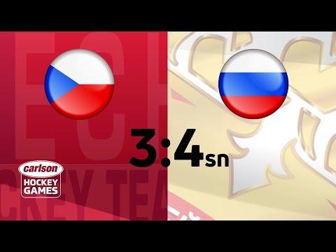 Češi nad Rusy třikrát vedli. Nakonec padli v nájezdech