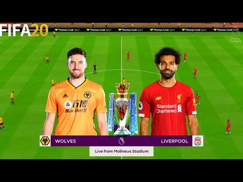Wolves vs Liverpool - 19/20 Premier League - Full Gameplay   FIFA 20