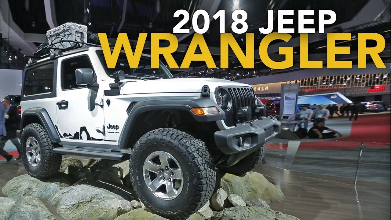 2018 jeep wrangler first look 2017 la auto show youtube. Black Bedroom Furniture Sets. Home Design Ideas