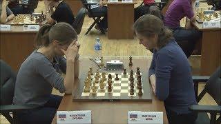 Tatiana Kosintseva vs Anna Muzychuk - Blitz Chess