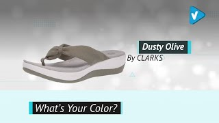 Clarks Women's Arla Glison Flip Flops | 2019 Summer Color Collection