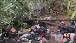 East Bay Homeowners Slapped With Bill To Clean Up Homeless Encampment