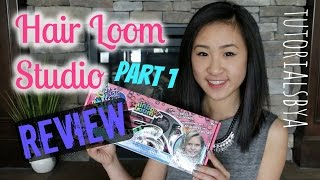 Hair Loom Studio Unboxing Comparison Review   NEW Rainbow Loom Product