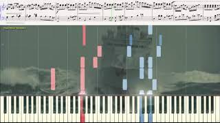"Увертюра - к\ф ""Дети капитана Гранта"" (Ноты и Видеоурок для фортепиано) (piano cover)"