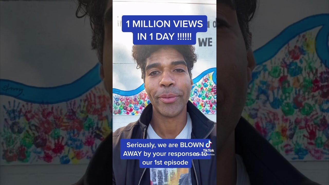 Over a million views in 24hrs